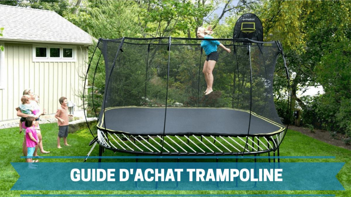 Photo de Guide d'achat du meilleur trampoline 2021 – comparatif des prix