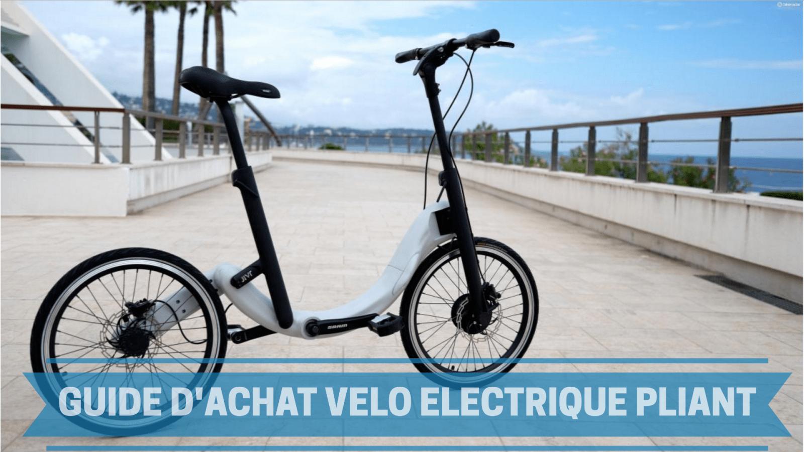 Comparatif meilleur vélo électrique pliant