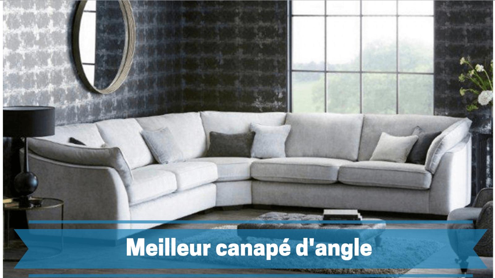 Photo de guide d'achat du meilleur canapé d'angle 2021 – comparatif des prix