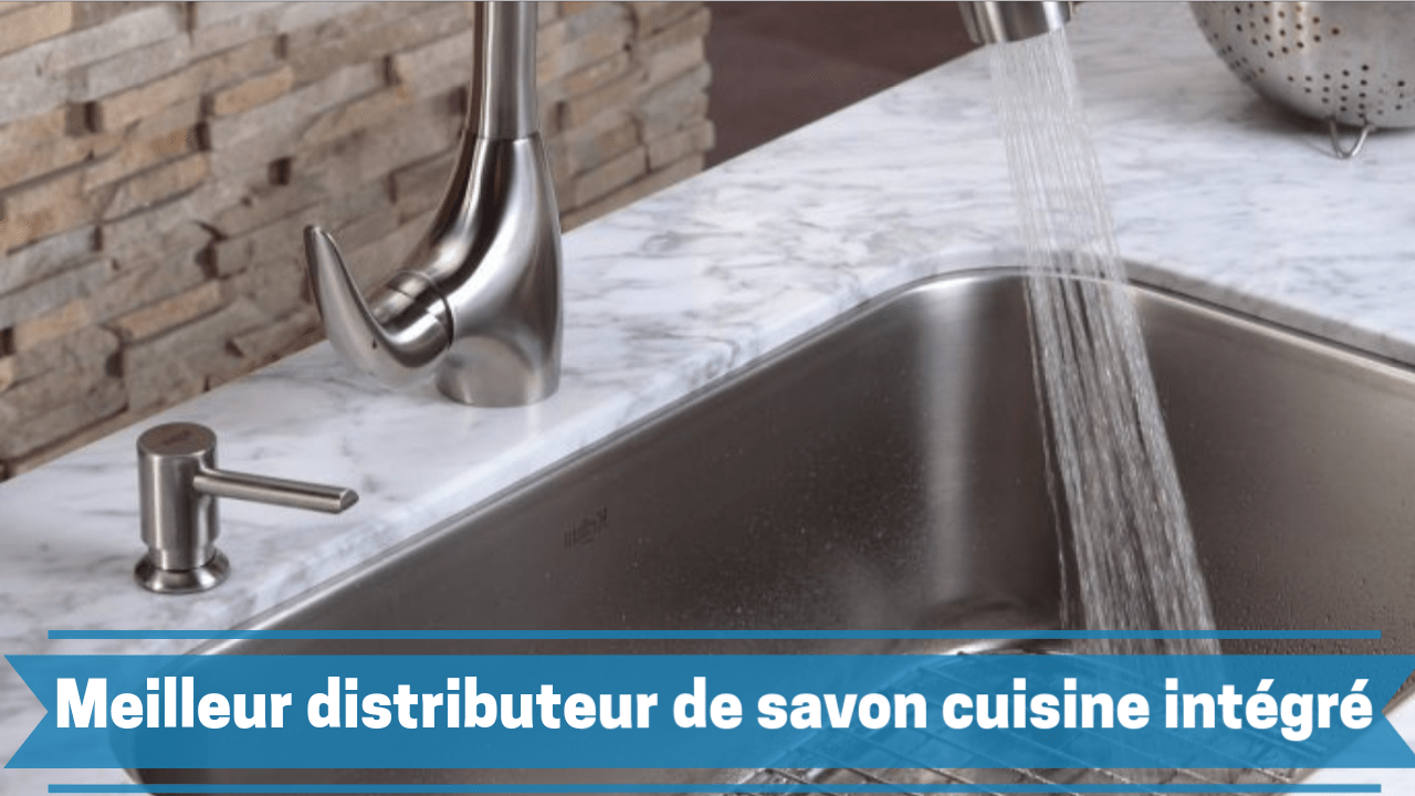 meilleur distributeur de savon intégré cuisine