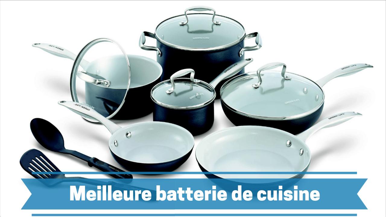 Photo de Meilleure batterie de cuisine en céramique (ustensiles) 2019 – comparatif des prix et guide d'achat