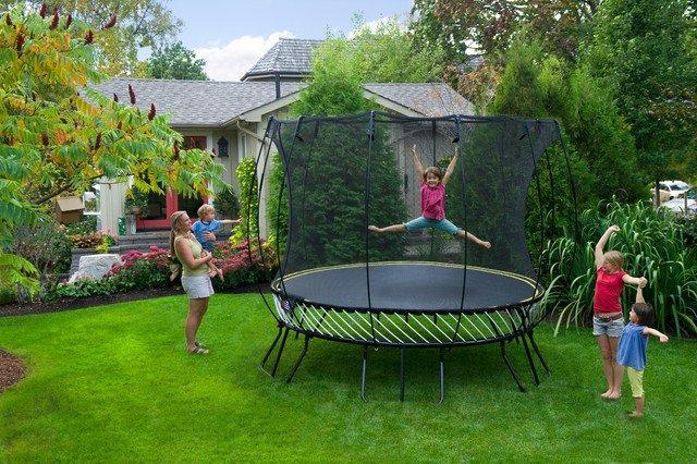 Trampoline de jardin