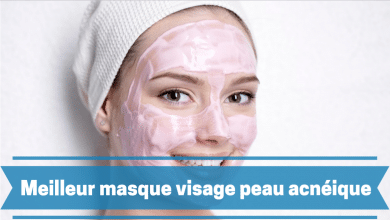 Photo de Masque visage peau acnéique