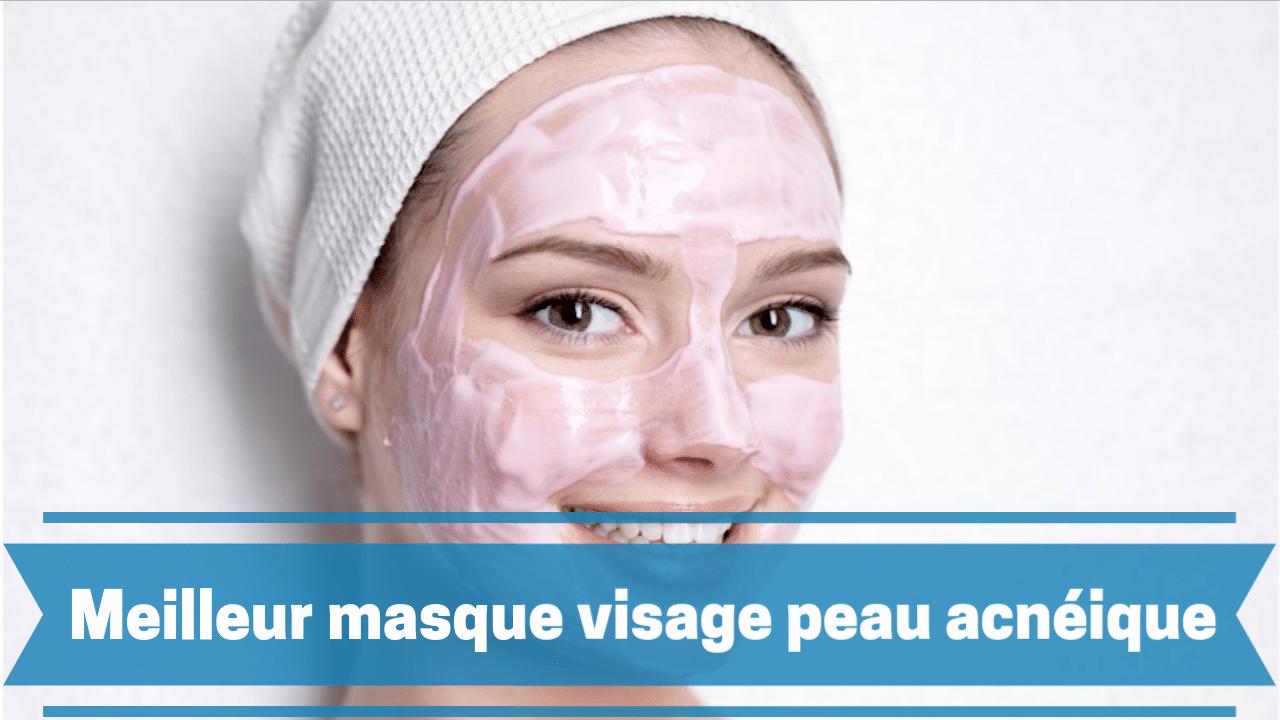 Photo de Masque visage peau acnéique