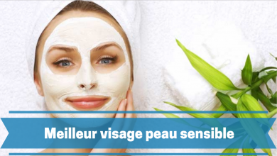 Photo de Masque visage peau sensible