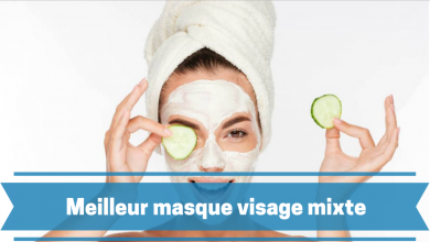 Photo de Masque visage peau mixte