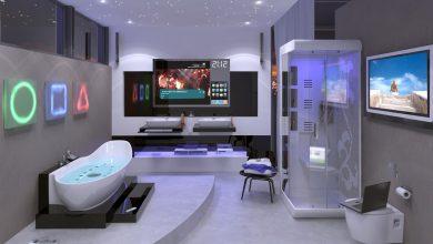 Photo de Une salle de bain ingénieuse avec les dernières technologies