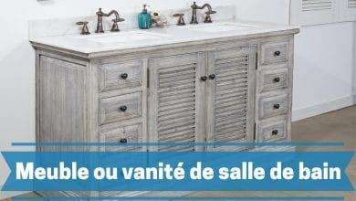 Photo de Donnez plus de style à votre espace avec les meilleurs meubles ou vanité de salle de bain