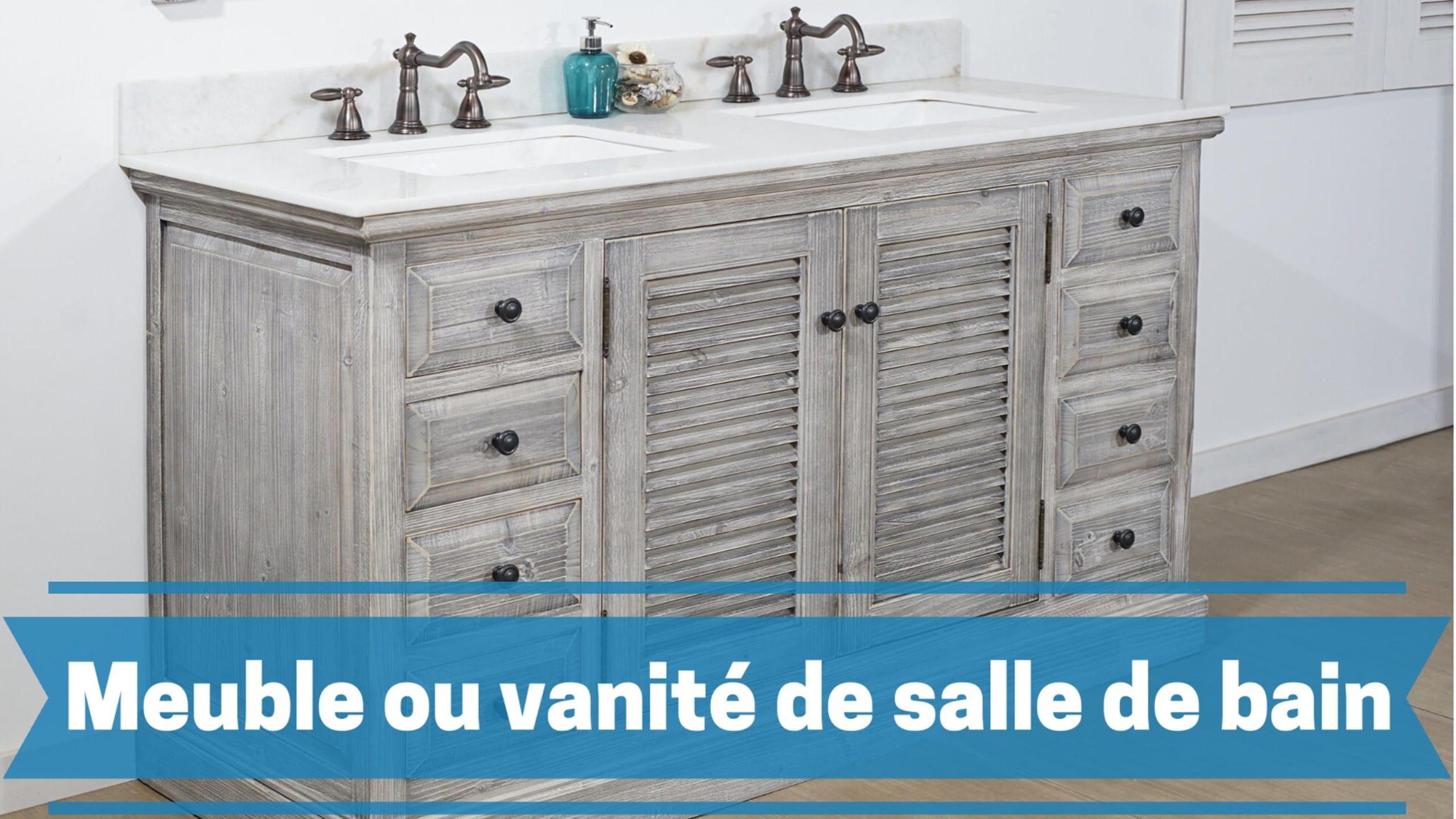 Meilleur meuble et vanité de salle de bain comparatif guide achat avis