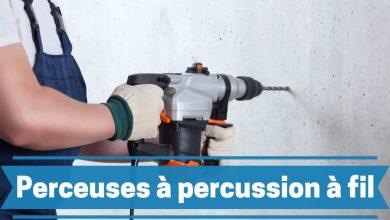 Photo de Meilleures de perceuses à percussion filaires 2021 – Avis, guide d'achat  et comparatif