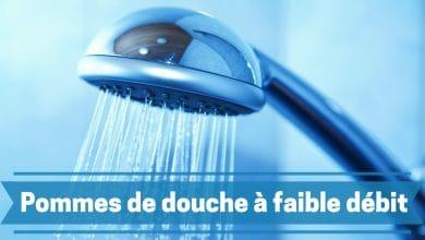 Photo de Evitez le gaspillage d'eau en optant pour un pommeau de douche à faible débit