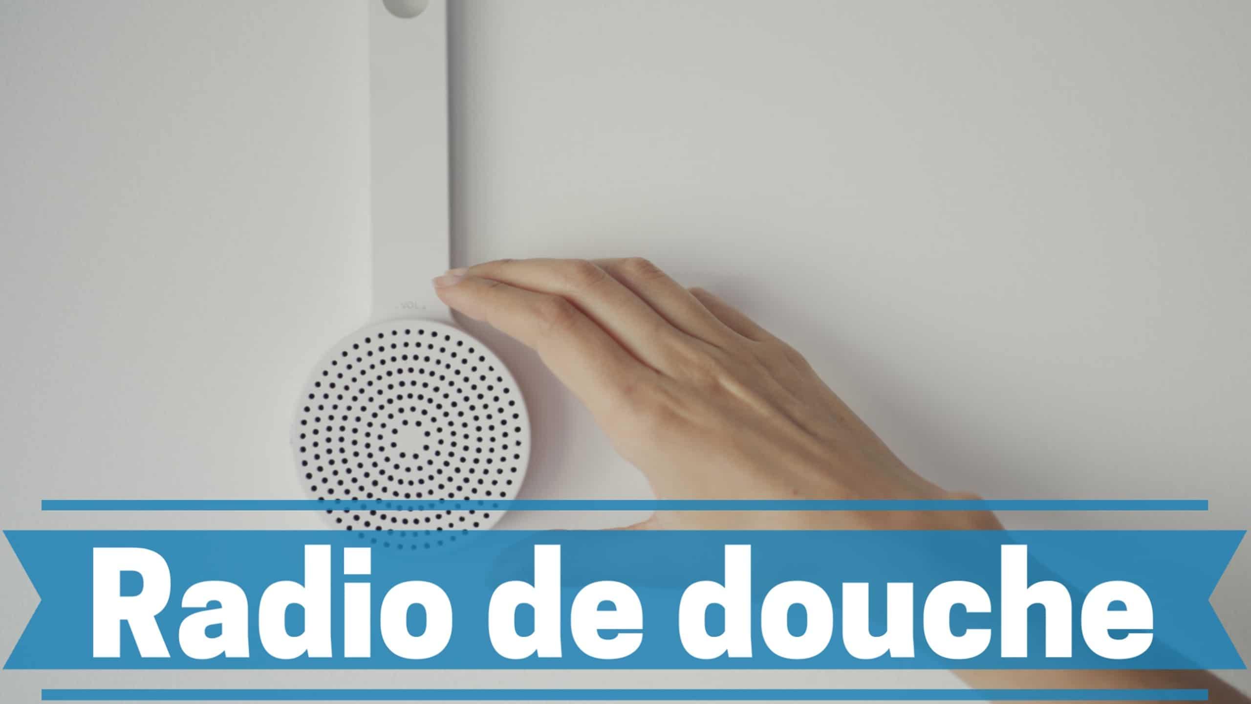 Photo de Meilleures radio étanche de salle de bain pour 2020 – Douche avec musique