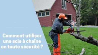 Photo de Comment utiliser une tronçonneuse ou scie à chaîne en toute sécurité ?