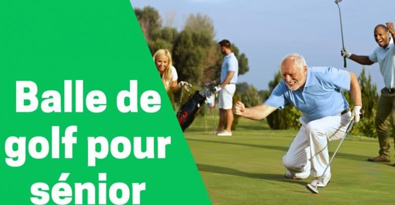 Meilleur balle de golf pour sénior comparatif avis test guide achat