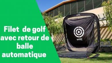 Photo de Filets de golf avec système de retour de balles