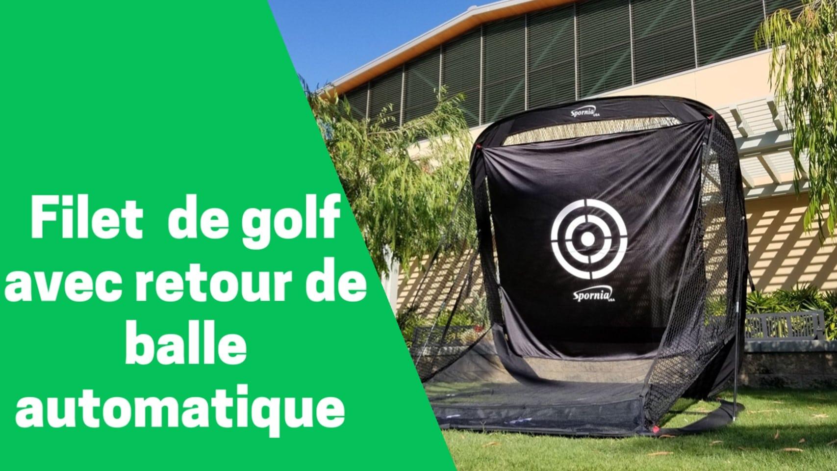 Meilleur filet de golf avec retour de balle automatique comparatif avis test guide achat