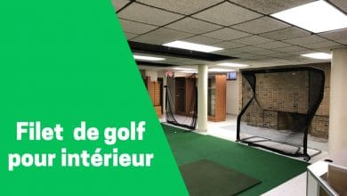 Photo de Filet d'entrainement de golf pour usage intérieur