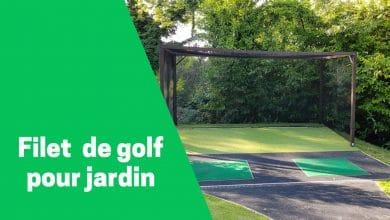 Photo de Meilleurs filets d'entrainement de golf pour le jardin.