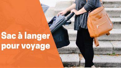 Photo de Meilleurs à dos sacs de couches ou sacs  langer de voyage pour bébé de 2020.
