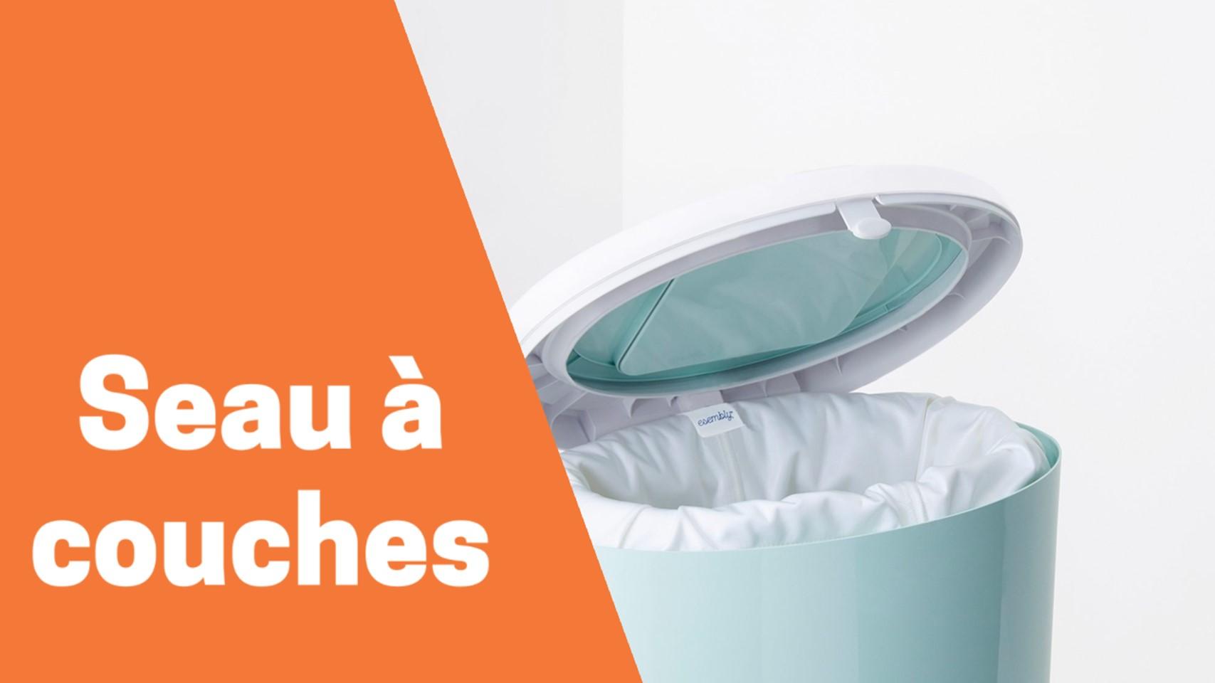 Meilleur seau ou poubelle à couches comparatif avis test guide achat