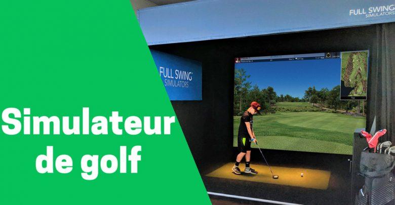 Meilleur simulateur de golf comparatif avis test guide achat