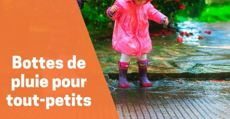 Meilleures Bottes de pluie pour tout-petits comparatif avis test guide achat