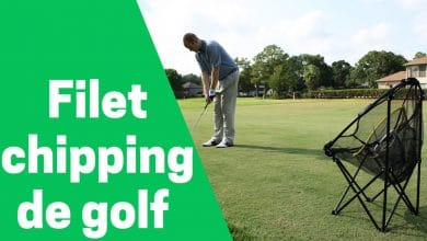 Photo de Meilleur filet chipping pop-up ou à copeaux de golf
