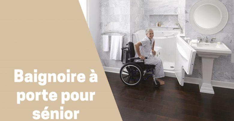 meilleure baignoire à porte pour personne agées et à mobilité réduite comparatif guide achat avis