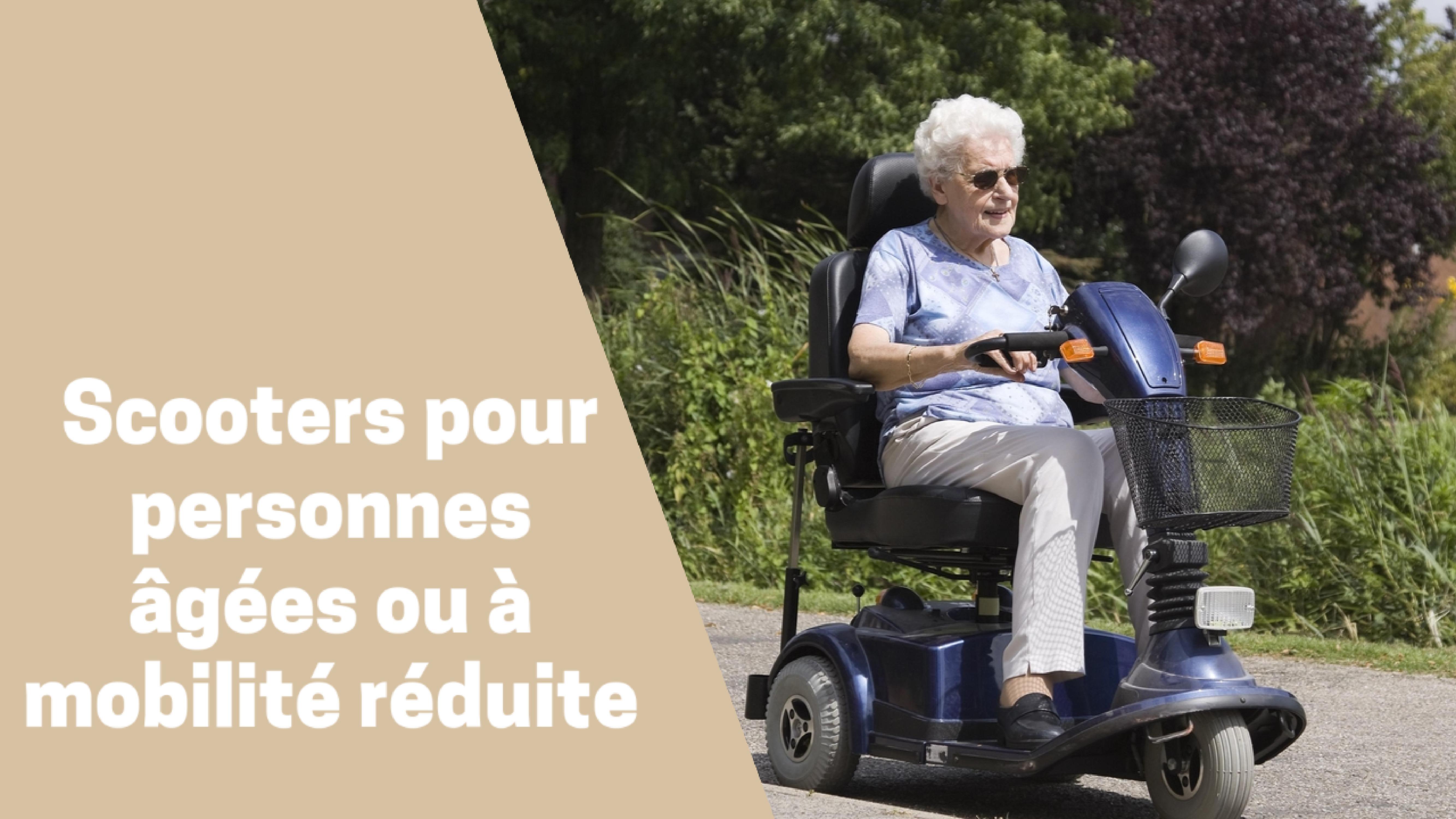 Photo de Meilleurs scooters du moment pour personne âgée 2020