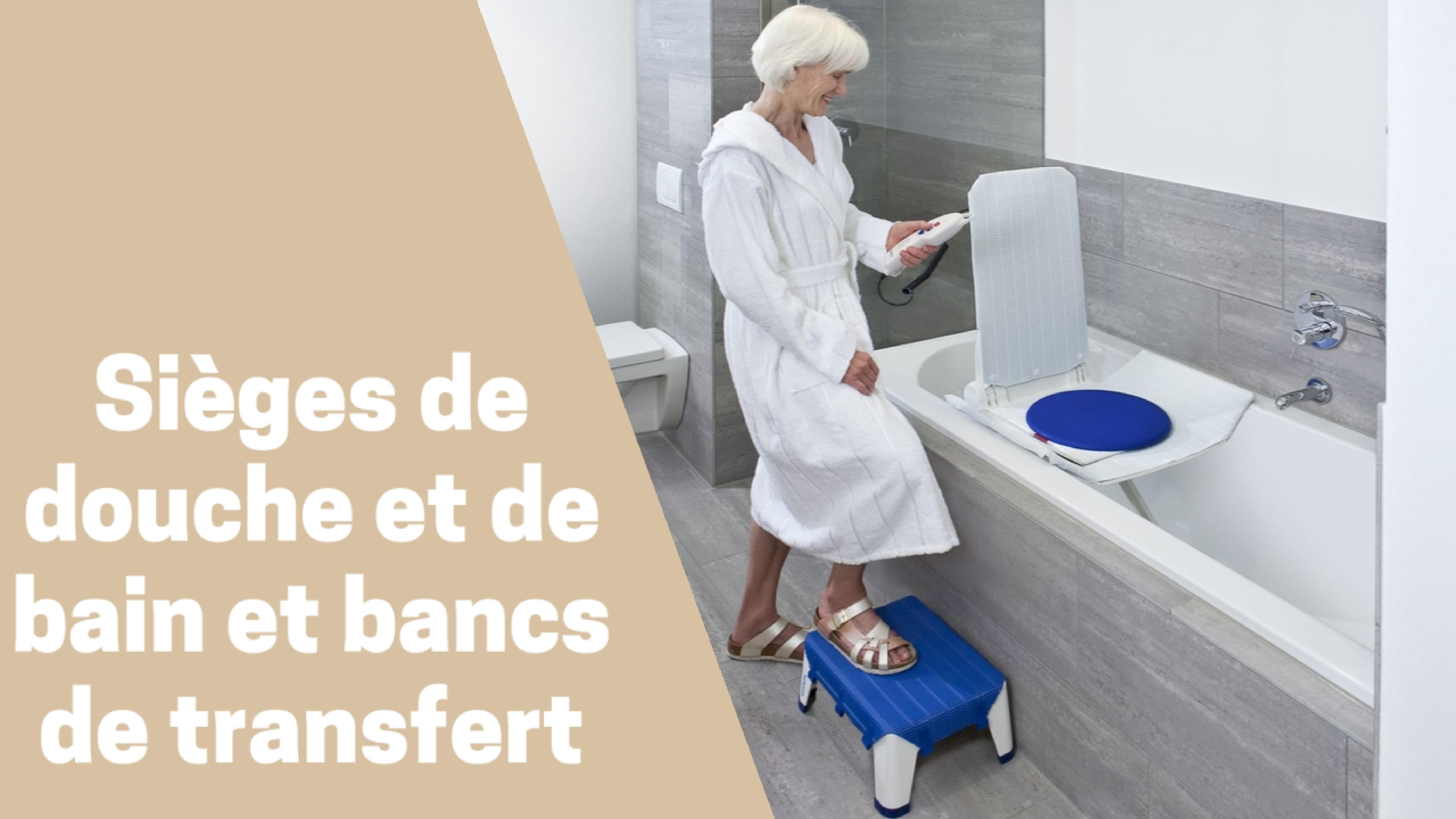 Photo de Les Meilleurs Sièges De Douche, De Bain Ou Bancs de Transfert