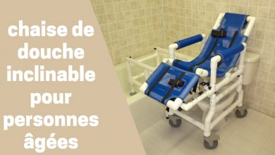 Photo de Meilleures chaises de douche inclinables 2020