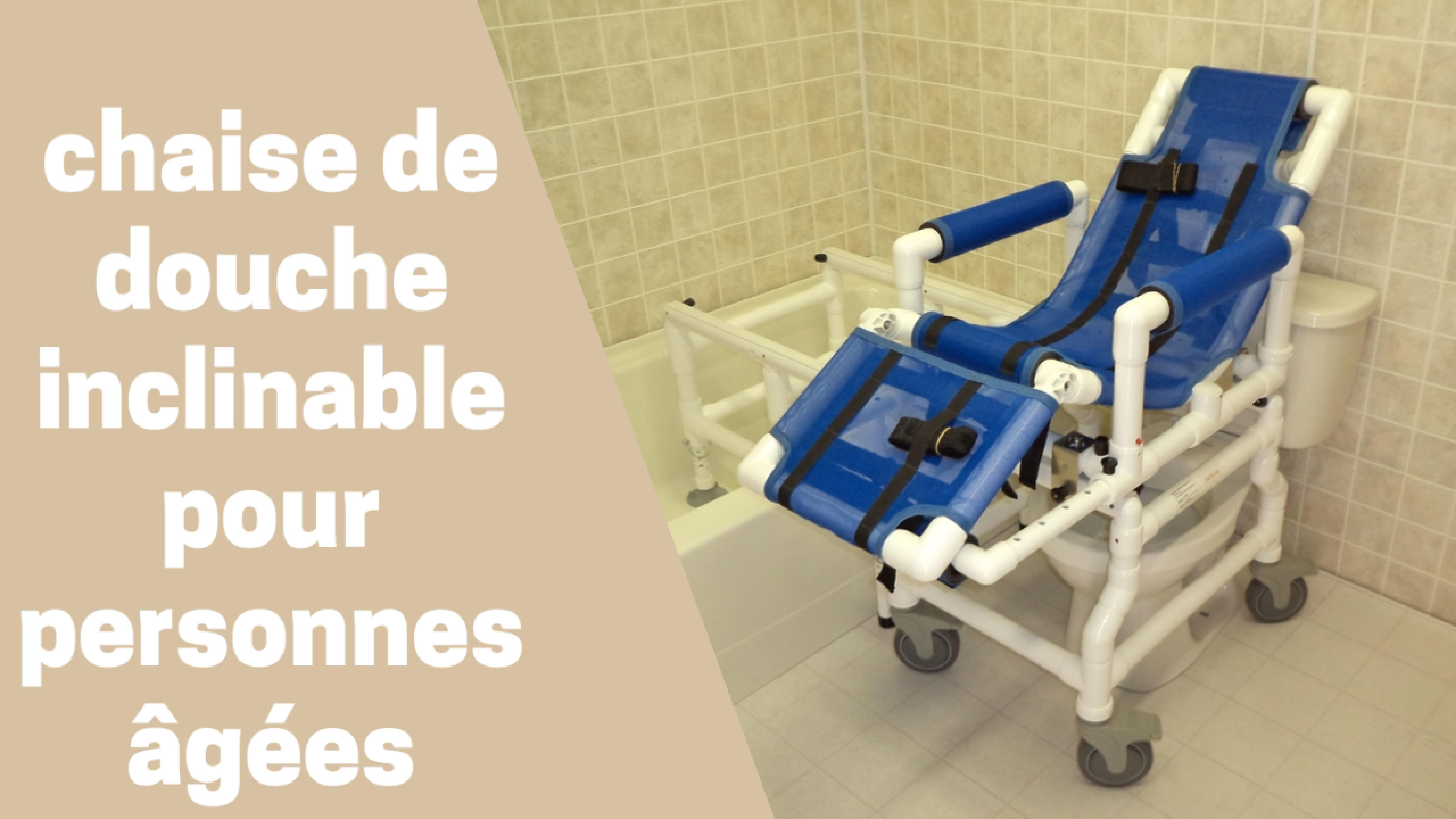 Photo de Meilleures chaises de douche inclinables 2020