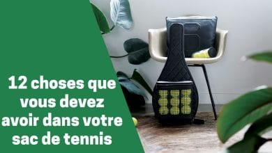 Photo de Quels sont les articles et équipements essentiels à avoir dans son sac tennis ?