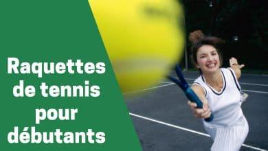 Photo de Zoom sur les raquettes de premier choix pour les joueurs de tennis débutants en 2020