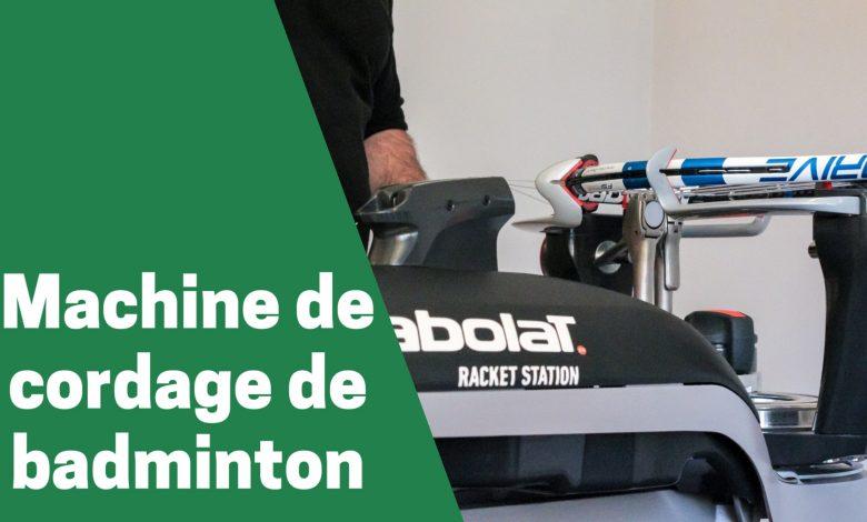 Selection des meilleures machines de cordage de badminton pour joueur intermédiaire comparatif guide achat avis test