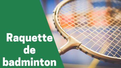 Photo de Aperçu sur les raquettes de badminton les plus prisés en 2021