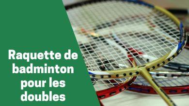Photo de Les raquettes de badminton les plus prisées pour les doubles en 2020
