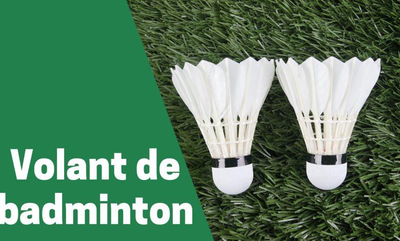 Selection des meilleurs volant de badminton comparatif guide achat avis test