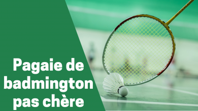 Photo de Les meilleures pagaies ou raquette de badminton vendues à petit prix sur le marché en 2020